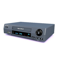 vcr video recorder 3d model