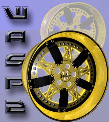 c4d designs wasp wheels