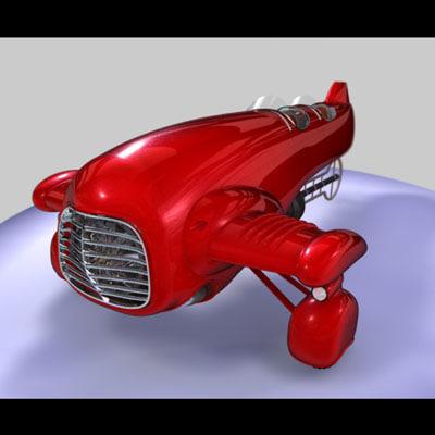 vanship koichi chigira 3d model