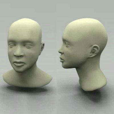maya womans head
