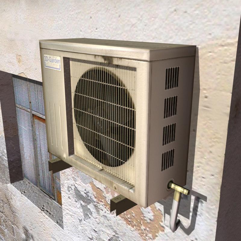 air condition arab 3d model