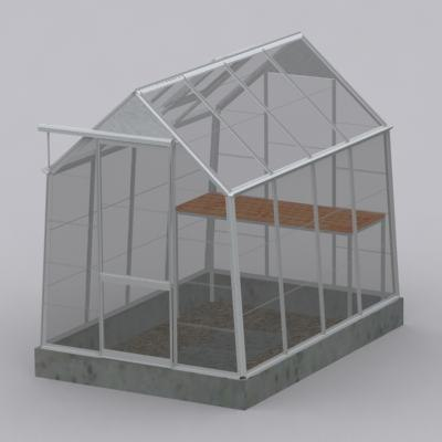 3d greenhouse garden