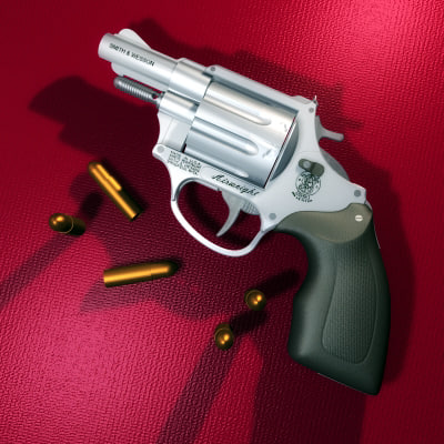 smith wesson 3d model