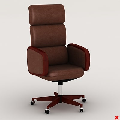 3d model of chair office