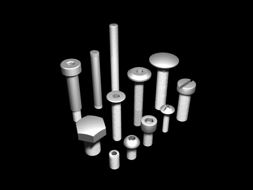 max bolts threads