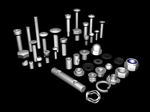 maya package nuts bolts threads