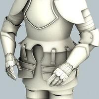3d 3ds armor
