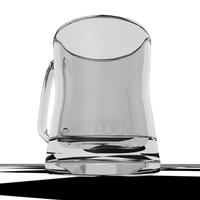 Heavy Glass Mug