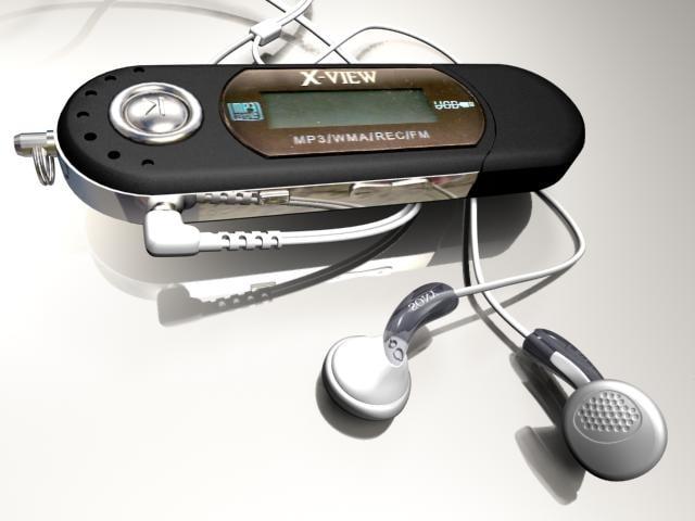 3d player earphones