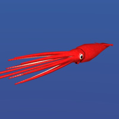 3ds max giant squid
