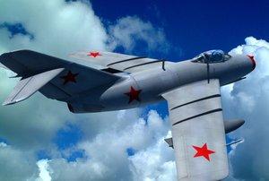 mig-15 russian 3d model