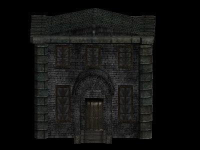 building door window 3d model