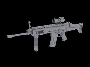 3d special fnscar-l model