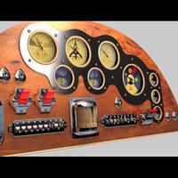 3d model device panel
