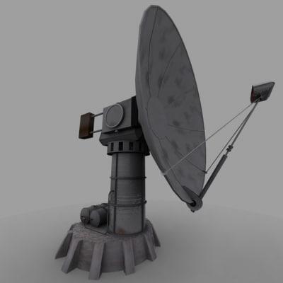 max radar satellite dish