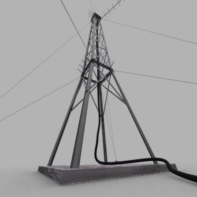 radio communications tower max