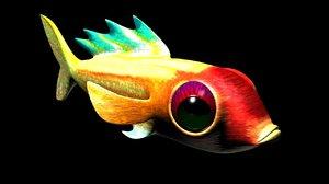 3d model of fish