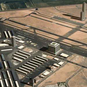 3d airfield city model