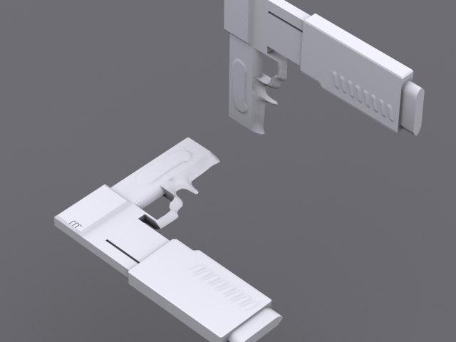 3ds pistol
