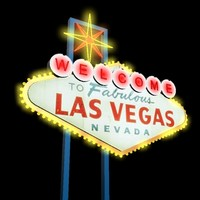 3d welcome las vegas sign