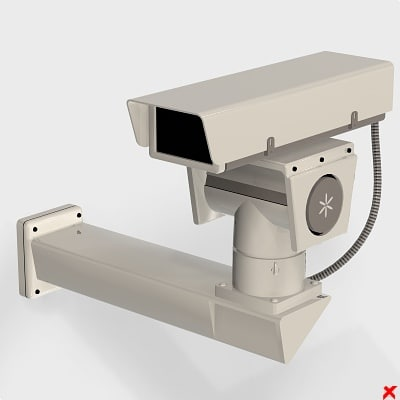 security camera dxf