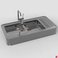 Sink kitchen003.ZIP