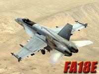 max fa18e desert terrain fighter