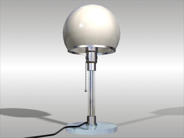 lamp bauhaus 3d max