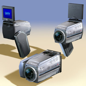 3ds max digital camera