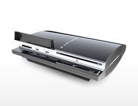 PS3 Console 3DS Max Model + Textures