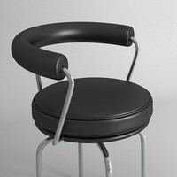 lc7 swivel chair 3d 3ds