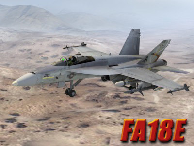 maya fa18e desert terrain fighter