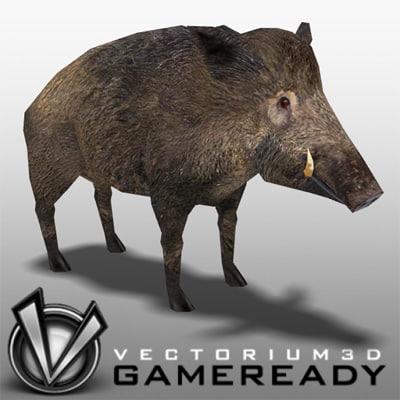 wild boar 3ds
