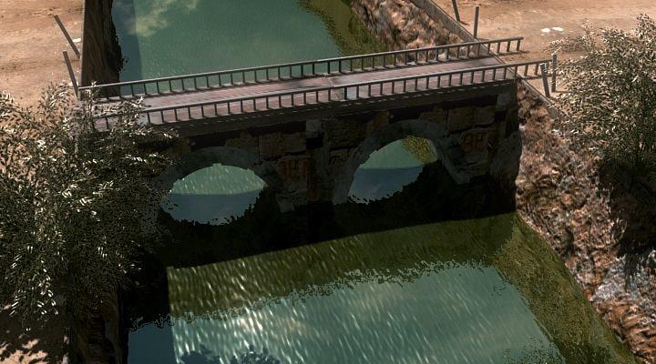 realistic bridge 3d max