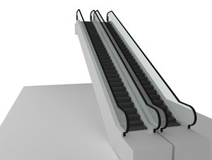 3ds escalator
