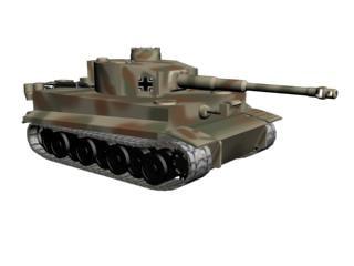 3d pzkpfw vi tiger model