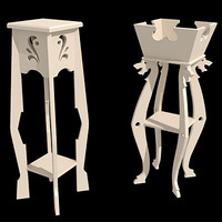3ds max plant stands