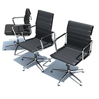 3d eames chairs