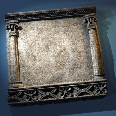tiles middle age obj