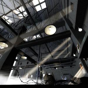 freak hangar 3d max