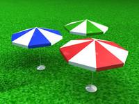 free c4d model umbrella