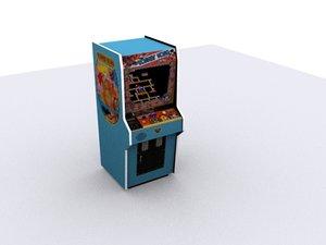 3d donkeykong arcade model
