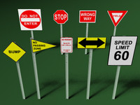 s max road signs
