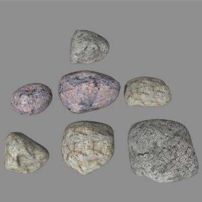 obj stones
