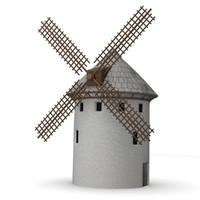windmill 3d dxf