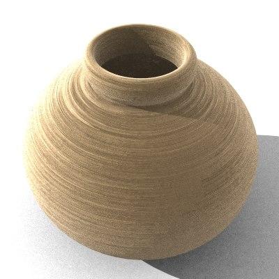 vase pot 3d model