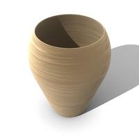 3d vase pot