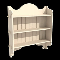 bookcase furniture 3ds