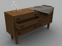 drawer handlers 3d model