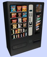 Low Poly Vending Machine